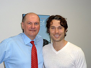 Dr. Chuck with recent success story, Alec Mazo, Season 1 Winner, ABC's 'Dancing With The Stars